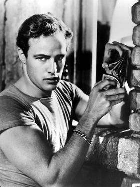 A Streetcar Named Desire, Marlon Brando, 1951, Playing Cards
