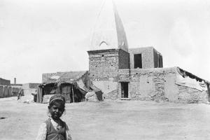 A Temple in Nowshera, India, 1916-1917