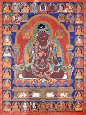 A Thang-Ka Depicting the Mahasiddha Bir Va Pa, C. 1600