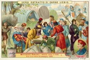 A Trade Fair in Champagne, 1300