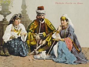 A Turkish Family Smoking
