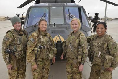 A U.S. Army All Female Crew
