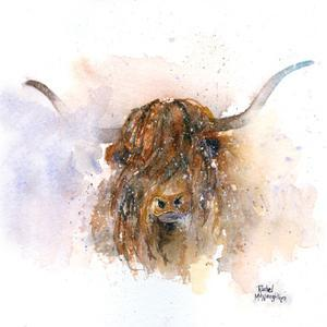 Highland Cow by A.V. Art