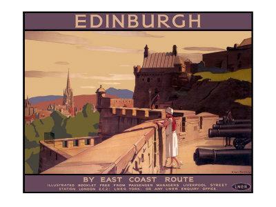 Edinburgh by the East Coast Route