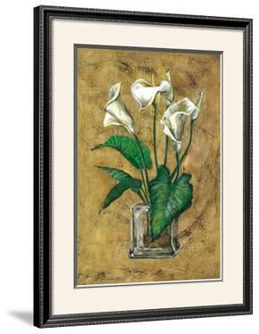 Flores Blancas II by A. Vega