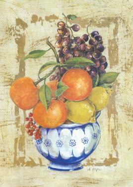 Fruit Bowl I by A. Vega