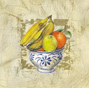 Fruit Bowl III by A. Vega