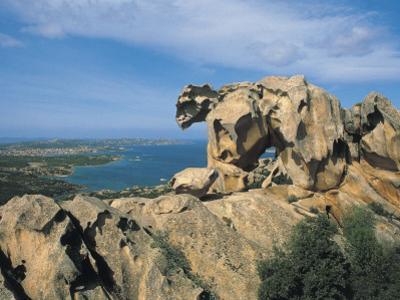 Rock Formations at the Coast, Capo D'Orso, Palau, Sardinia, Italy