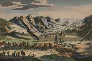 A View of the Celebrated Great Wall of China, 1782