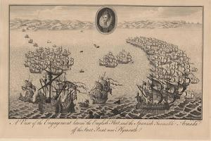 A View of the Engagement Between the English Fleet and the Spanish Invincible Armada Off the Start