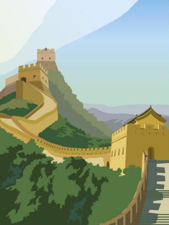 A View of the Great Wall of China
