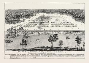 A View of the Town of Savannah, in the Colony of Georgia, in South Carolina, 1741.Usa, 1870S