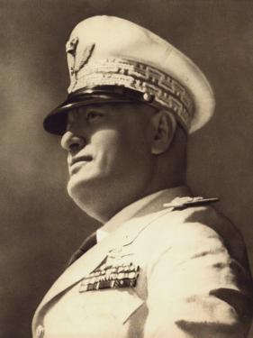 Benito Mussolini by A. Villani