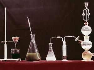 Laboratory Glassware by A. Villani