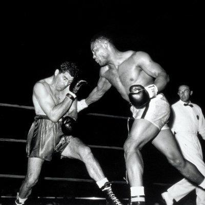 Match Between Two Boxers
