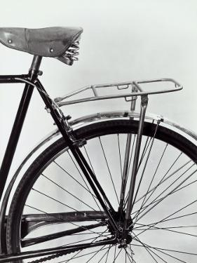 Mudguard, Seat and Rear Tire of a Bicycle by A. Villani