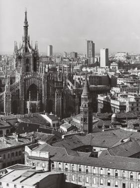 Panorama of Milan by A. Villani