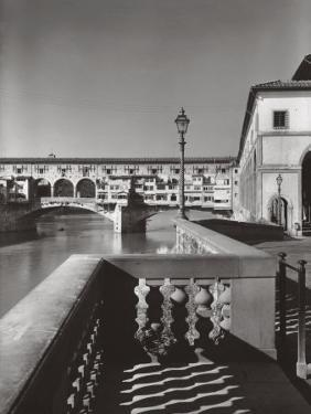 The Ponte Vecchio in Florence by A. Villani