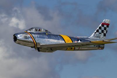 A Vintage F-86 Sabre of the Warbird Heritage Foundation