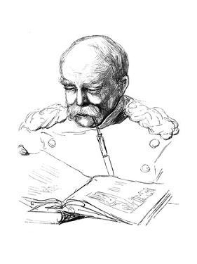 Otto Von Bismark, German Statesman, 1877 by A von Werner
