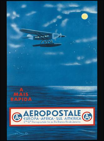 Europe, Africa, South America, Rio de Janeiro, Brazil - Aeropostale CGA by A.W.D.
