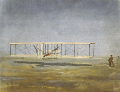 The First Flight: Kitty Hawk