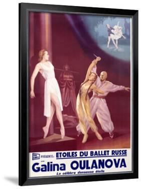 Etoiles du Ballet Russe by A. Wamaw
