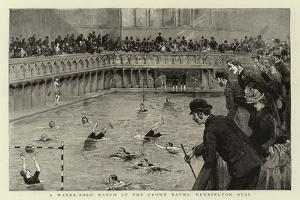 A Water-Polo Match at the Crown Baths, Kennington Oval