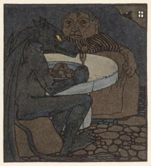 The Dragon Dines with the Devil's Grandmother by A Weisgerber