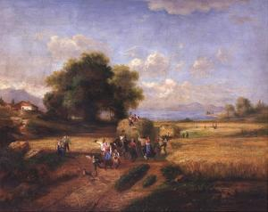 Harvest Celebration by A. Weller