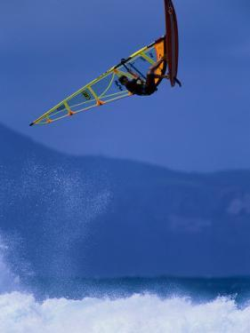 A Windsurfing in Mid-Air