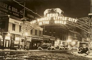 A Winter Night in Reno, Nevada