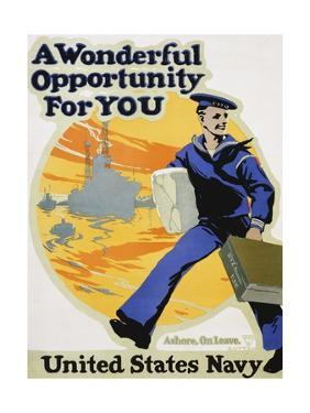 A Wonderful Opportunity for You Recruitment Poster