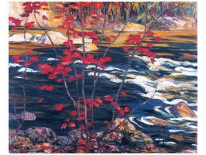 The Red Maple by A^ Y^ Jackson