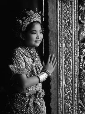 A Young Thai Classical Dancer