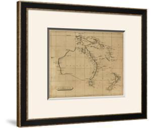 Australasia, c.1812 by Aaron Arrowsmith