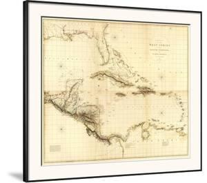 Composite: West Indies, c.1810 by Aaron Arrowsmith
