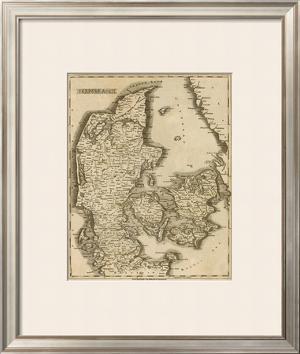 Denmark, c.1812 by Aaron Arrowsmith