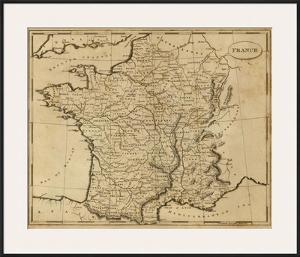France, c.1812 by Aaron Arrowsmith