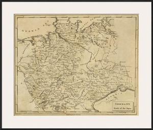 Germany North, c.1812 by Aaron Arrowsmith