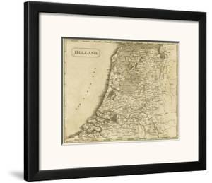 Holland, c.1812 by Aaron Arrowsmith