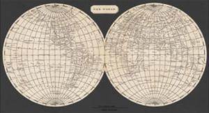 Map of the World, 1812 by Aaron Arrowsmith