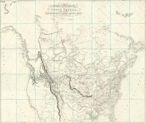 New Discoveries in the Interior Parts of North America, c.1814 by Aaron Arrowsmith