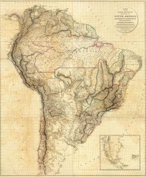 South America, c.1814 by Aaron Arrowsmith