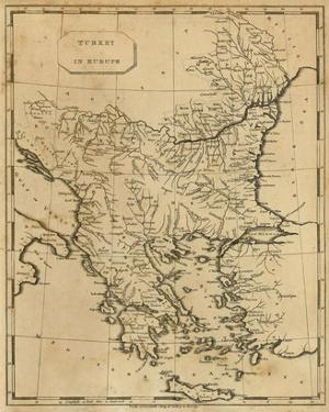 Turkey in Europe, c.1812 by Aaron Arrowsmith