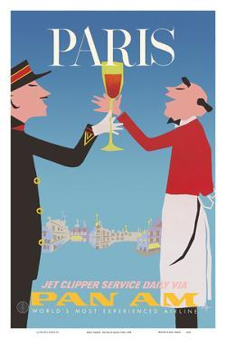 Paris, France - Pan American World Airways by Aaron Fine
