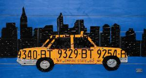 New York Taxi Cab by Aaron Foster
