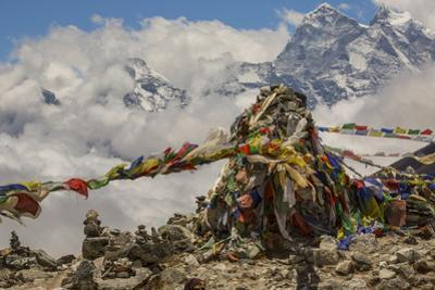 A monument to Sherpas who died while mountaineering. by Aaron Huey