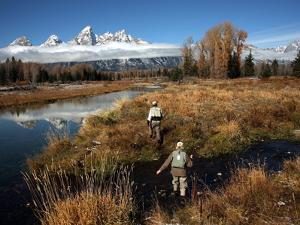 Fly Fishing in Grand Teton National Park by Aaron Huey