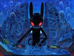 DJ BlackRabbit by Aaron Jasinski